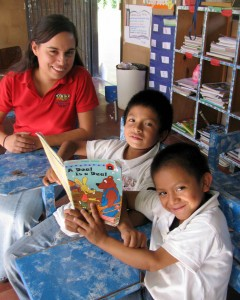 Students Learning at Mayatan